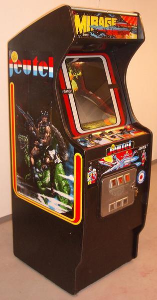 borne arcade jeutel occasion
